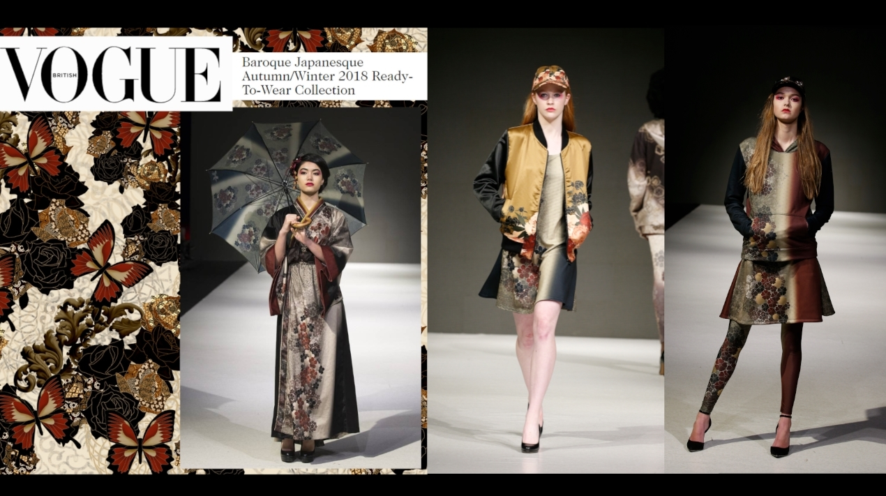 Baroque Japanesque Graphic Fashion Design